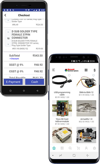 Webrino POS and Webrino MCommerce Mobile Apps